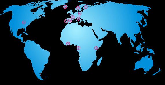 carte du monde marquage industriel